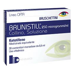 BRUNISTILL*COLL20FL 0,5ML0,025