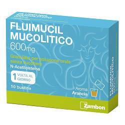 FLUIMUCIL MUCOL*OS 10BUST600MG