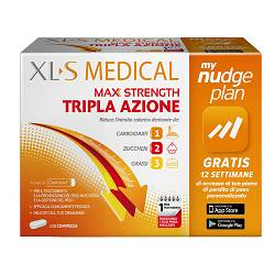 XLS MEDICAL MAX STRENGTH120CPR