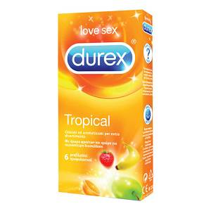 DUREX TROPICAL EASY ON 6PZ